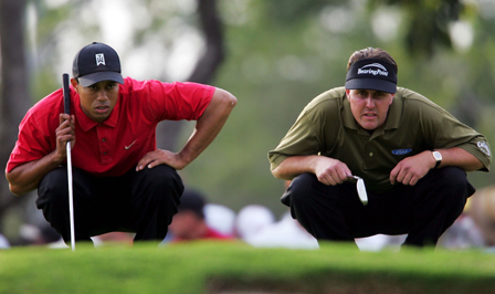 Dealing With Failure: Tiger Woods vs. Phil Mickelson
