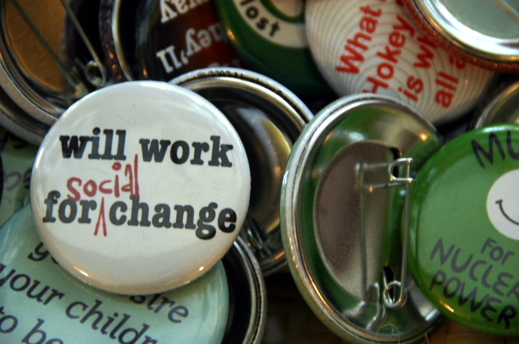 Will work for (social) change