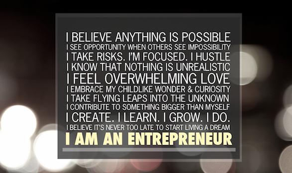 I am an entrepreneur