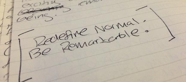 Redefine normal